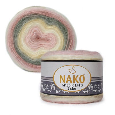 Nako Angora Luks Color 81904