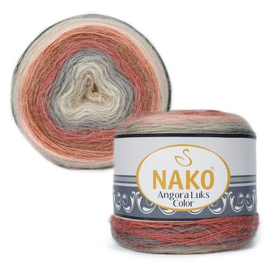 Nako Angora Luks Color 81913