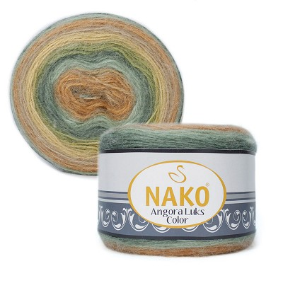 Nako Angora Luks Color 81912