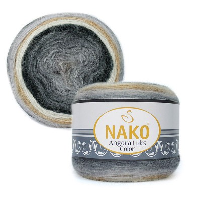 Nako Angora Luks Color 81914