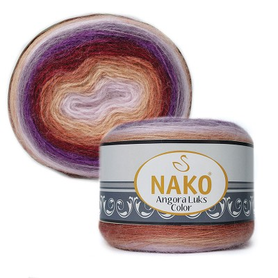 Nako Angora Luks Color 81918
