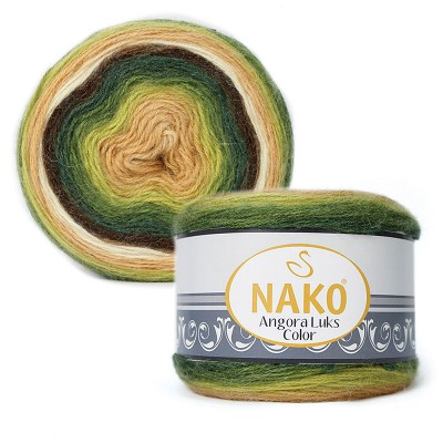 Nako Angora Luks Color 81905