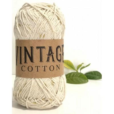 Vintage Cotton 26 Beige-Γυαλιστερό