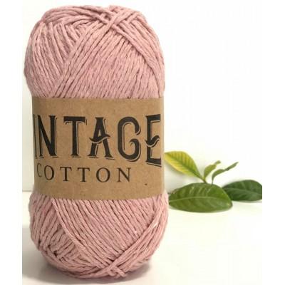 Vintage Cotton 19 Rose