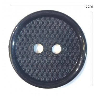 Κουμπί Μπλε Σκούρο 5cm (28)