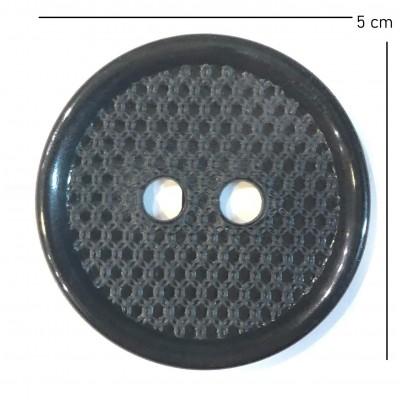 Κουμπί Μαύρο 5cm (30)