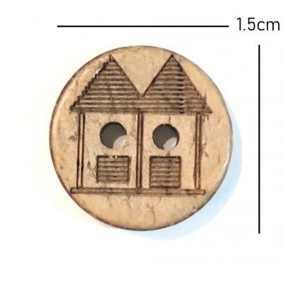 Μπαμπού Κουμπάκι 1,5cm (01)