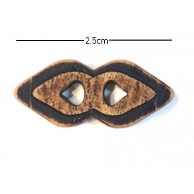 Μπαμπού Κουμπάκι 2,5cm (13)