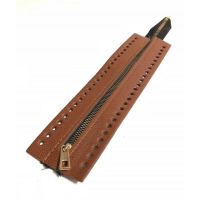 Φερμουάρ Τσάντας 26cm Ταμπά