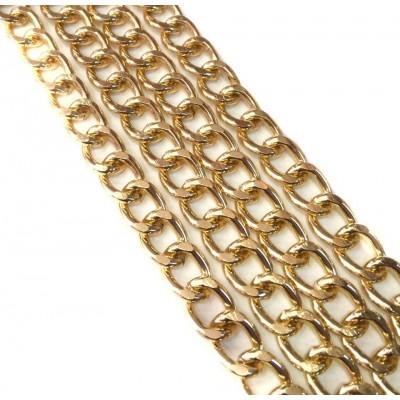 Αλυσίδα  Χρυσή Μεσαία Νο34  (1 μέτρο)