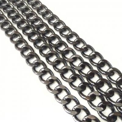 Αλυσίδα Black Nickel Μεσαία Νο32 (1 μέτρο)