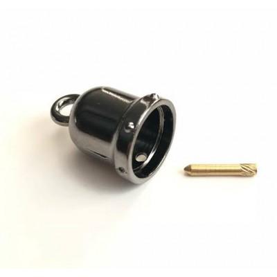 Καμπανάκι Μεταλλικό Black Nickel 04