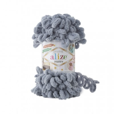 Alize Puffy 428 Medium Grey