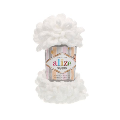 Alize Puffy 55 White