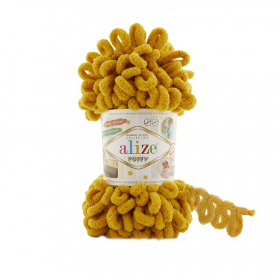 Alize Puffy 02 Mustard