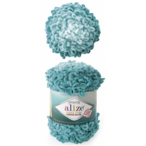 Alize Puffy Fine Ombre Batik 7246