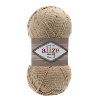 Alize Cotton Gold Tweed 262