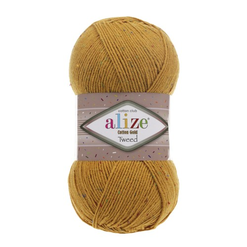Alize Cotton Gold Tweed 02