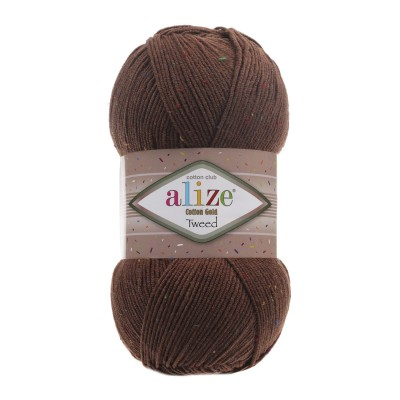 Alize Cotton Gold Tweed 493
