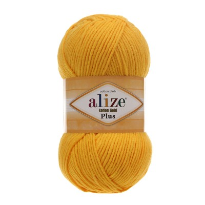 Alize Cotton Gold Plus 216 Yellow