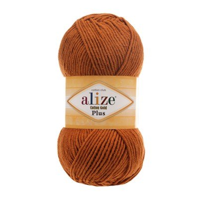 Alize Cotton Gold Plus 234 Tobacco Brown