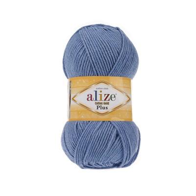 Alize Cotton Gold Plus 374 Blue Melange