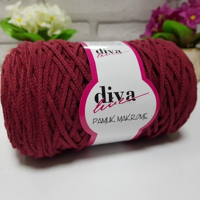 Diva Cotton Macrame 23 Μπορντο