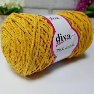 Diva Cotton Macrame 28 Μουσταρδί
