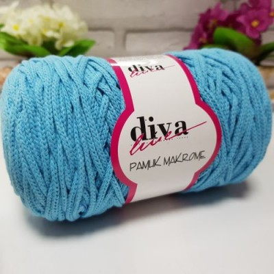 Diva Cotton Macrame 33 Γαλάζιο