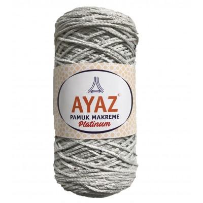 Ayaz Cotton Macrame Platinium 1195