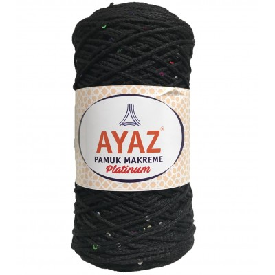 Ayaz Cotton Macrame Platinium 1217