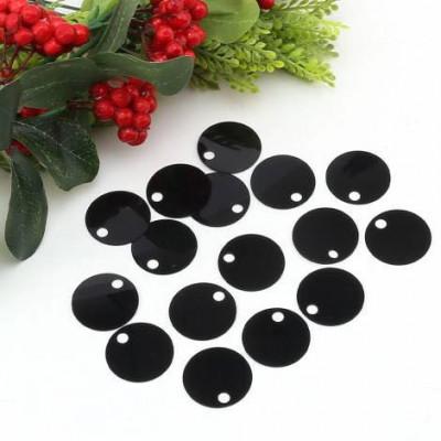 Παγιέτες Μαύρο (25 Γραμμάρια)